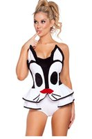 adult holiday party - DearLove Sexy Adult Cosplay Halloween Women Fantasia Playful Pussycat Costume Set for holidays and parties LC8946 FG1511