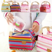 Wholesale Portable Lunch Picnic Bag Insulated Cooler Bag Ice Bag Cool Bag Lunch Box Camping Kit Hand Lunch Pouch