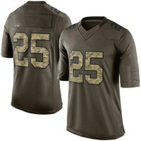 Wholesale 2015 Salute To Service Men s KCC Jamaal Charles Green Salute To Service Limited Jerseys Football Jerseys