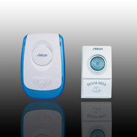 Wireless   V009A AC Wireless door bell Chime remote control 38 tunes digital doorbell 110V 220V for home shop hotel superstore