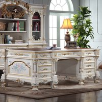 Antique home office furniture - Imperial executive desk italian french antique furniture home office furniture