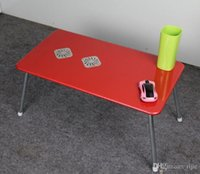 Cheap Wholesale - free shipping 2014 new bed computer desk bed laptop table bed table folding table bed lazy bones student table for Christmas