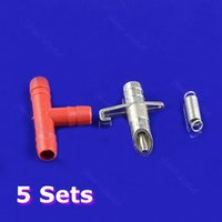 Wholesale 5 Sets Automatic Nipple Water Feeder Drinker Waterer For Rabbit Bunny Rodents PY