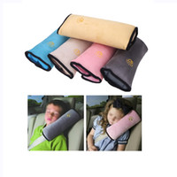 Wholesale Universal Car Seat Cover Safety Belts Pillow Children Strap Shoulder Supply Cushion Pillows Protection Interior Car Styling