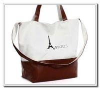 Women handbags paris - 2015 New Canvas Women Handbag Retro Classic PARIS Eiffel Tower Print Designer handbags Women Handbags Canvas Bag For Women Handbag