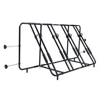 pick up truck - NEW Adjustable Four Bike Rack Truck Pick Up Bed Compact Mount Carrier