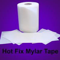 Wholesale Rhinestone hot fix tape Transfer Film Mylar tape quot x ft x pc Fast shipping from USA warehouse