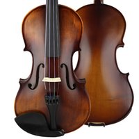 Wholesale New snowpine all Solid violin with case bow rosin Spruce top maple back and side size musical instruments