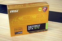 Wholesale 100 Original MSI GOLDEN EDITION GTX Gaming Twin Frozer V GB GDDR5 bit Graphics Cards Ship With DHL