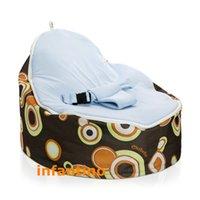 Wholesale jelly baby bean bag RETRO BALLS BLUE SEAT