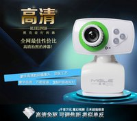 Wholesale USB webcam LED PC Camera HD Webcam Camera Web Cam with MIC for Computer PC Laptop
