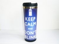 best tea mug - New Doctor Who Keep Calm Carry On DIY Coffee Mug Tea Cup Travel Cup Sports Outdoor Cup CM OZ Best Gift