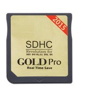 Wholesale NEW Free DHL Version Genuine Gold Pro Revolution COM Upgradable Adapter Real Time Save Flash Card