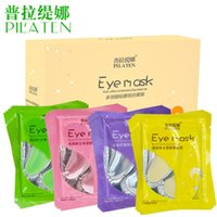 aloe eye gel - PILATEN Nourish the skin around the eye Rose aloe Korean ginseng Saussurea in1 eyes mask remove eye finelines