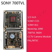 Cheap Free Shipping HD 700TVL Sony CCD camera board sony 811,cctv camera module chipboard for assemble Security CCTV camera system