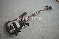 Wholesale High quality right price beautiful black sunburst RICK bass Through neck bass guitar