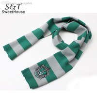 best scarf men - Best price knitting Scarf Warm Stripe Gryffindor Scarve Men Scarves Winter Wrap Shawl Harry Potter Scarves Drop Shipping