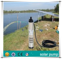 agricultural water pumps - 10M head DC best deep well Submersible pump in china Solar water pump for agricultural without solar panel