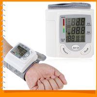 Wholesale Portable Automatic Wrist Blood Pressure Monitor Cuff Electronic Digital Blood Pressure Meter Device Pulse Sphygmomanometer
