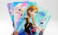 Wholesale ALL Elsa Princess Anna Cosplay Notebook Student Diary Book