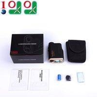 Wholesale 10l0l Golf Rangefinder Laser Range Finder with Flagseeker Laser Binoculars Free Battery M