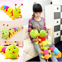 Wholesale S Hot Girls Babys Pillow Toys Colorful Inchworm Soft Lovely Developmental Toys