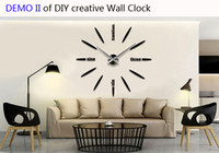 Wholesale Top new creative Personal Customization wall clock up to cm diameter for saloon drawing meeting room with Japan original movement