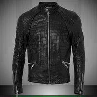 Wholesale Fall Motorcycle Chaquetas Hombre Skull Biker mens leather jackets and coats brand men leather jacket jaqueta de couro masculina