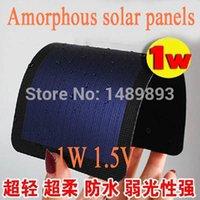 amorphous silicon thin film - 1W V mm mm Amorphous silicon solar panels