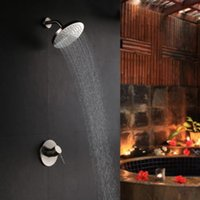 Wholesale Wall Mounted Single Handle Shower Faucet with quot shower head
