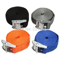Wholesale Metal Cam Buckle Tie Down Strong Nylon Quick Lock Strap Luggage Cargo Belt