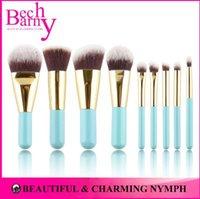 mini make up kit - Hot Sale Makeup Brushes Synthetic Hair Makeup Brush Set Lovely Make Up Brushes Mini Cosmetics Brush