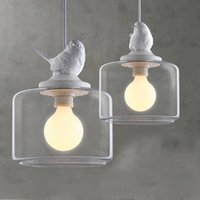 industrial material - HOT Edison Chandelier Modern Pendant Lamps E27 E14 E12 industrial lighting LED Incandescent Pendant Lamps Glass Hardware Material bl