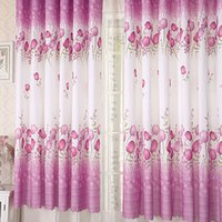 Wholesale Colorful New Home Room Window Voile Curtain K5BO