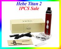 Cheap 1PCS Sale Titan 2 vaporizer pen HEBE Kit 2200mAh Vaporizer vapor titan mod factory price VS titan 1 dry herb vaporizer nebox mod