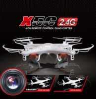 Wholesale Updated Version Syma X5C G Axis GYRO HD Camera RC Quadcopter RTF RC Helicopter with MP Camera