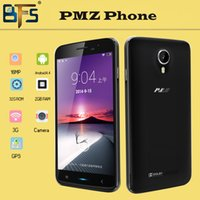 Wholesale unlock android Phones MTK6582 Quad Core PMZPHONE F26 Inch GHz CPU IPS HD Screen GB RAM GB ROM MP Android mobile phone