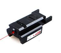 al por mayor pistola láser rojo-El alcance rojo táctico de la vista del laser del punto con el montaje compacto para el rifle del arma de la pistola libera el envío