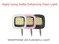 Wholesale External Flash Fill Light Selfie Mini Portable LED Spotlight Smartphone LED Flash Fill Light For iPhone Android Devices up