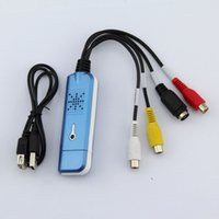 Wholesale USB DVR Card Audio Video Capture Adapter With USB Converter Support Win7
