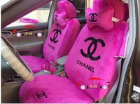 pink car seat covers - 2015 top selling Car Seat Covers Accessories Set