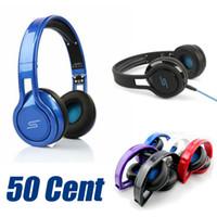 achat en gros de 50 cent headphones-SMS Audio SYNC Wired STREET de 50 Cent casque pour téléphones portable MP3 MP4 ordinateur iPad iPod Tablet Best Value Headset Sport écouteurs