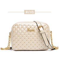 cheap branded bags - The new trend of female models brand handbags Quilted chain portable shoulder bag diagonal small fragrant wind cheap