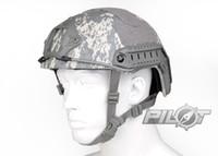 acu helmet - NEW Kryptek Typhon Pilot FAST Helmet Airsoft MH adjustable ABS helmet PH0601 ACU