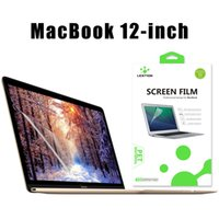 Wholesale LENTION MacBook Screen Protector Anti scratch Hydrophobic Oleophobic Crystal Clear Computer Film For Apple MacBook inch