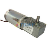 Wholesale DC V rpm kg cm dc worm gear motor speed reducer motor with gearbox