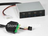 Wholesale 50pcs Port USB quot Floppy bit front multi function panel Desktop Floppy Drives By Fedex
