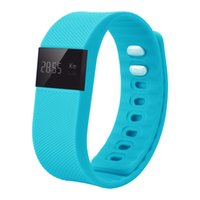 Wholesale Fitbit Smart band TW64 Fitness band Bluetooth Waterproof Passometer Sleep Tracker Bluetooth LED Display Change Straps