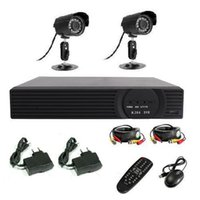 Wholesale DVR WITH HDMI CH H CCTV Standalone DVR CMOS IR Waterproof Outdoor indoor Camera CCTV system dvr kit