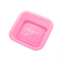 Wholesale Hot Marketing Cute Craft Art Square Silicone Oven Handmade Soap Molds DIY Soap Mold